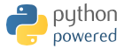 Powered by Python.