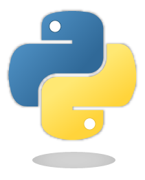 Python logo (remote)